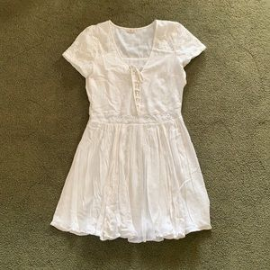 🌊 • Hollister •  Lace Up Dress
